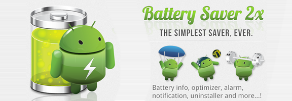 Extend Battery Life with Battery Saver 2x App