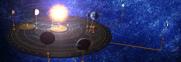 Orrery : Feel the Space with Your Phone