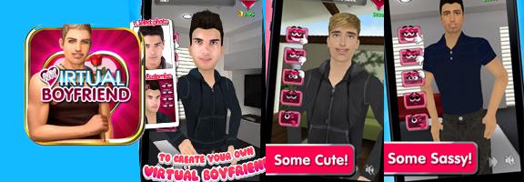 My Virtual Boyfriend : Flirting and Fun on Mobile