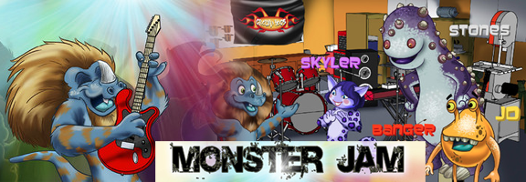 Monster Jam- Music, fun and entertainment unlimited for kids