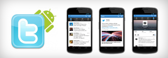Revamp of Twitter for Android Smartphones