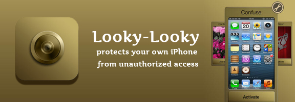 Install Looky – Looky to Protect your iPhone from Unauthorized Access