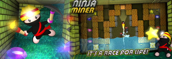 Ninja Miner : Fast Paced and Entertaining Gaming App