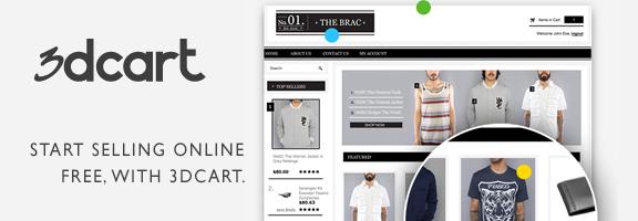 3dcart.com : Start Selling Online in Minutes