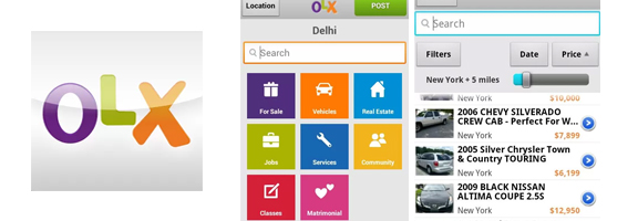 Sell or Buy Anything Online with OLX for Android