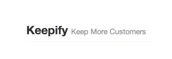 Keepify.com – Retain Your Old Customer with Keepify Support