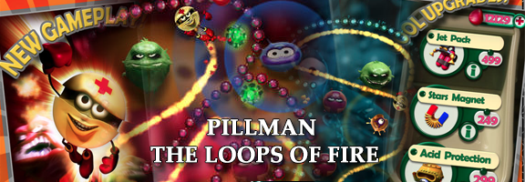 Pillman:the loop of fire – Standard Puzzle Game