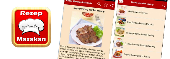 Learn cooking Indonesian recipes with Resep Masakan Indonesia