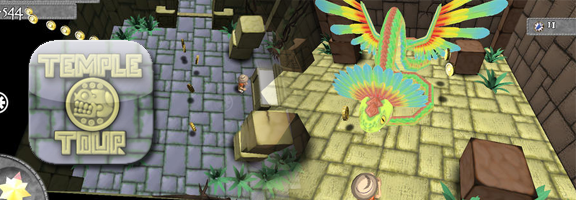 Find the Hidden Treasures in Temple Tour HD