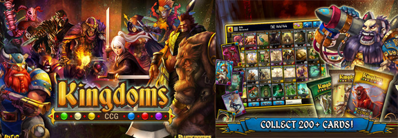 Win the Kingdoms with Strategy in Kingdoms CCG