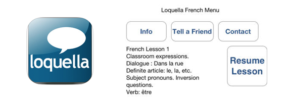 Learn French by Loquella: Learn French on the Go
