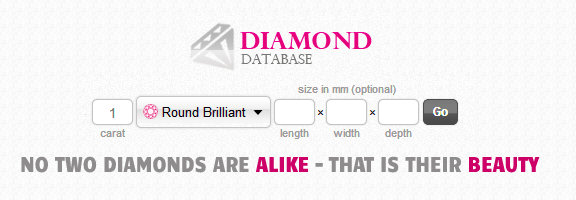 Diamond Database : Pick the Right One !