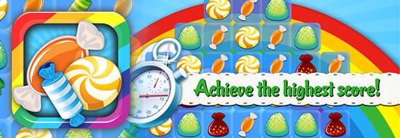 Sugar Crush HD, A Candy Saga: A Colorful Game
