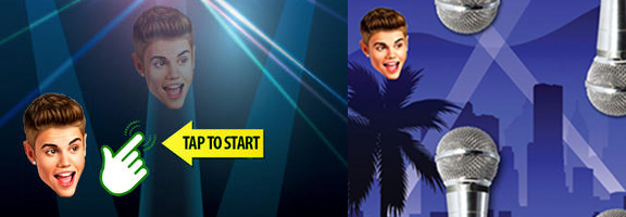 Fly Your Bieber Model and Earn Points in Flying Bieber, Just Believe