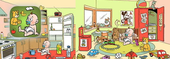 Make Your Kids Learn about Room Cleaning with TidyUp