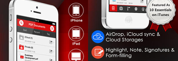 PDF Reader iOS App – Not Just a Reader !