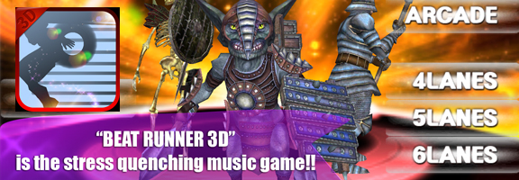 Beat Runner 3D: Music Run!- Gaming and Music to Soothe your Soul
