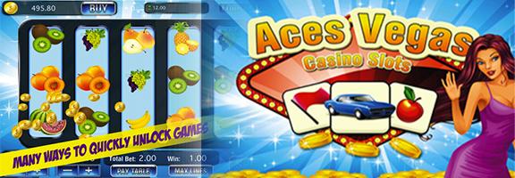 Aces Vegas Casino Slots – Let's Play it Big !