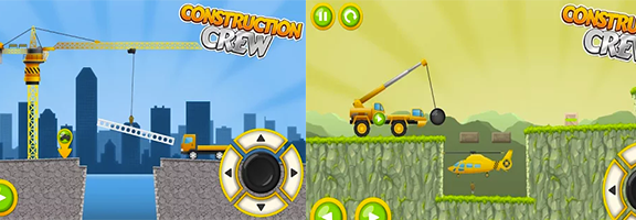 Enjoy your Work Day on Android Mobile with Construction Crew