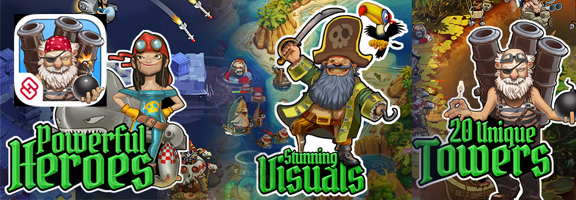 Play Pirate Legends TD and Tickle your Adventurous Bone!