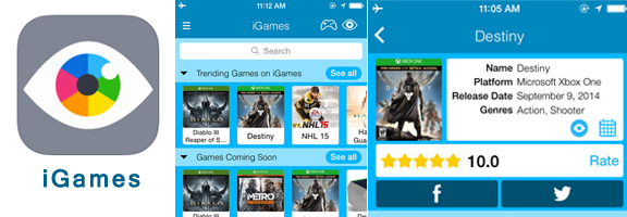 Keep an Eye on Your Favorite Game with iGames
