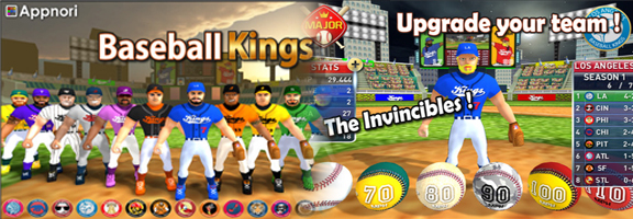 Baseball Kings – Into the Field !