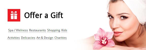 Gift Voucher Kiosk: Let them Feel 'Special'