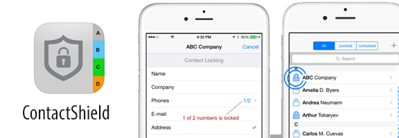 ContactShield – iPhone App Review