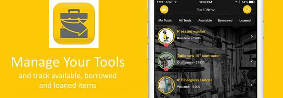 ShareMyToolbox : Excellent Tool Sharing App