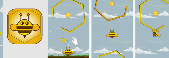 Bee Jump : Addictive Game on your Android Phone