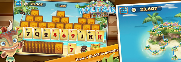 Solitaire TriPeaks : A 'Salty' Blend of Fun and Adventure