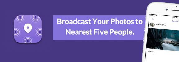 Nearest5, a new way to social media