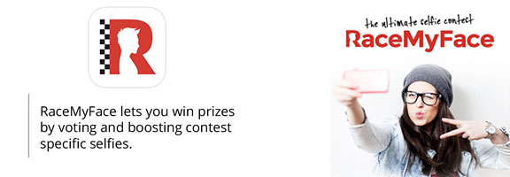 RaceMyFace – Participate and Win in Selfie Contest