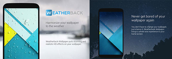 The Intuitive Weatherback Weather Wallpaper Android App Review