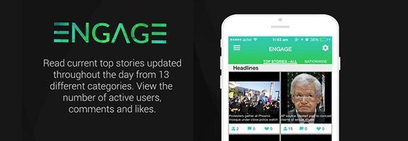 Engage Apps- Engage in news reading with others