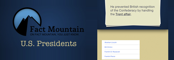 Fun Learning For Students: Fact Mountain