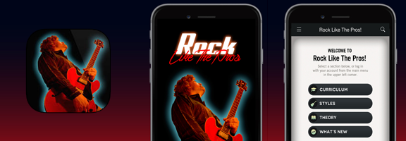 Rock Life Webapprater