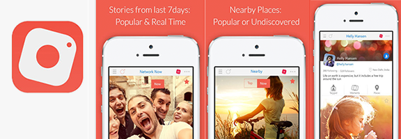 7dayz : A Real-time Location Based Social Sharing App