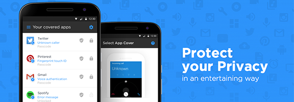 Keep your phone safe from the intruders by using the Fancy applock