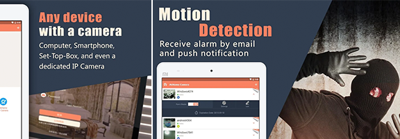 AtHome Camera – Home Security: Secure your Home Sweet Home