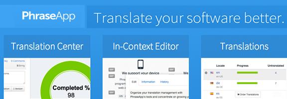 PhraseApp- Project localization made easy