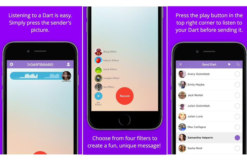 Dartboard – Voicemail Evolved- Communication enhanced