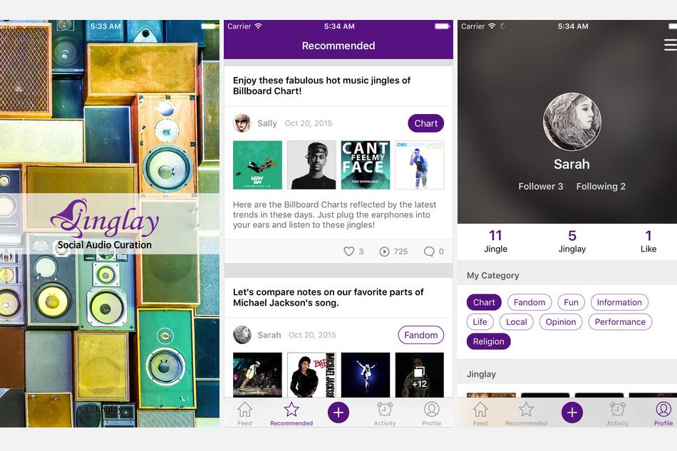 Jinglay : Music App to Enjoy