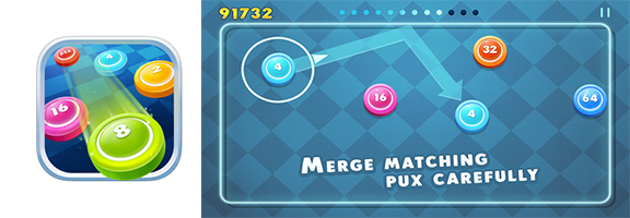 Puxers: Challenging fun 3D math game