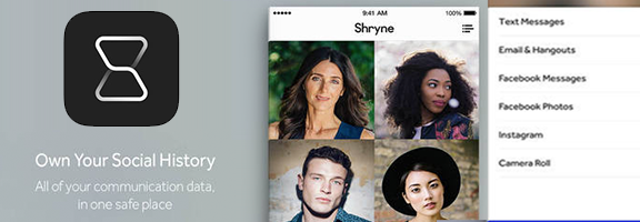 Shryne : App Preserve Your Memories