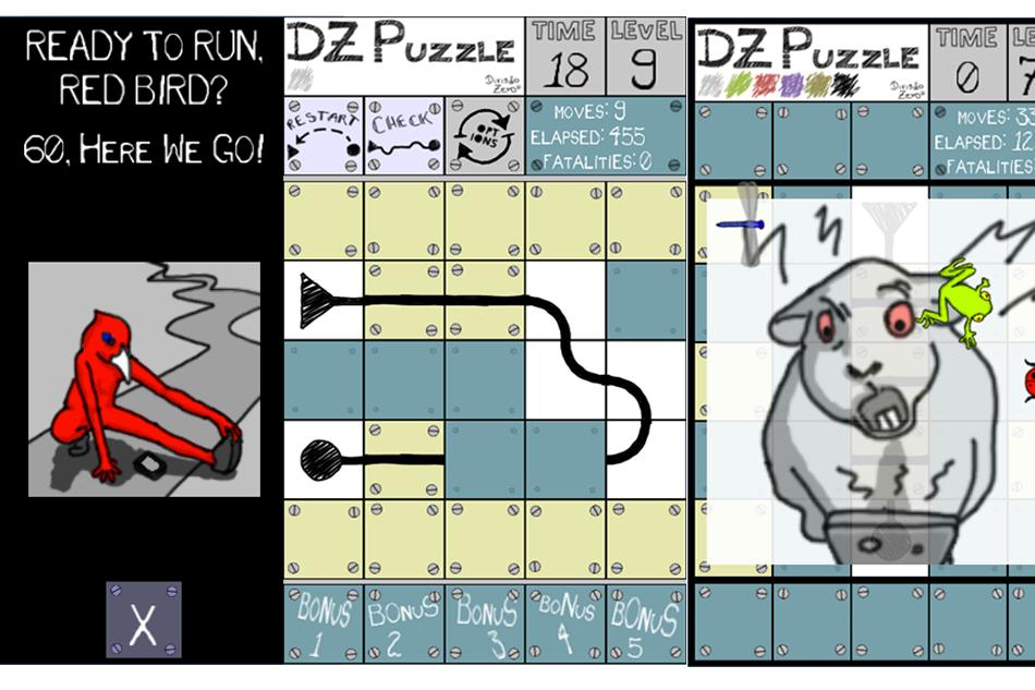 Duzzle with new Puzzle : DZ Puzzle