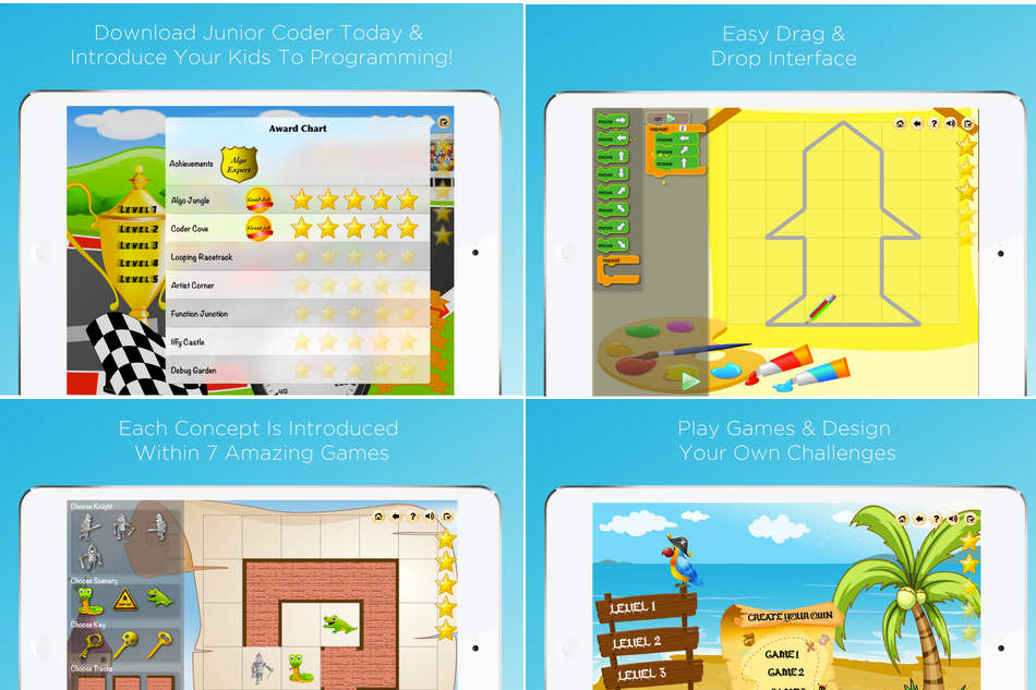 Junior Coder – Fun Way to Develop Kids Coding Skills