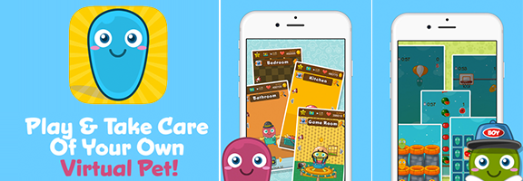 Suti : Virtual Pet Game- Specially for Kids