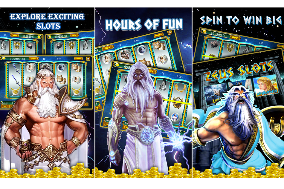 Zeus the Thunderer 'Greek God Casino' : Fun Game For you !