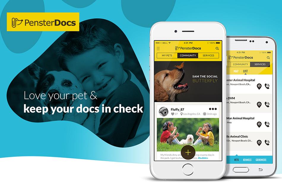 PensterDocs : App for Pet Lovers